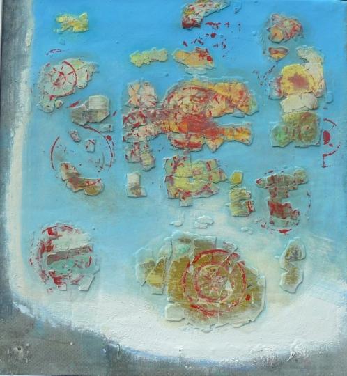 Jahrmarkt (Trümmerbild)
